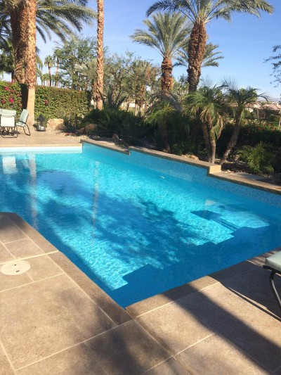 La Quinta Pool & Spa Remodel Pacific Pearl Mix