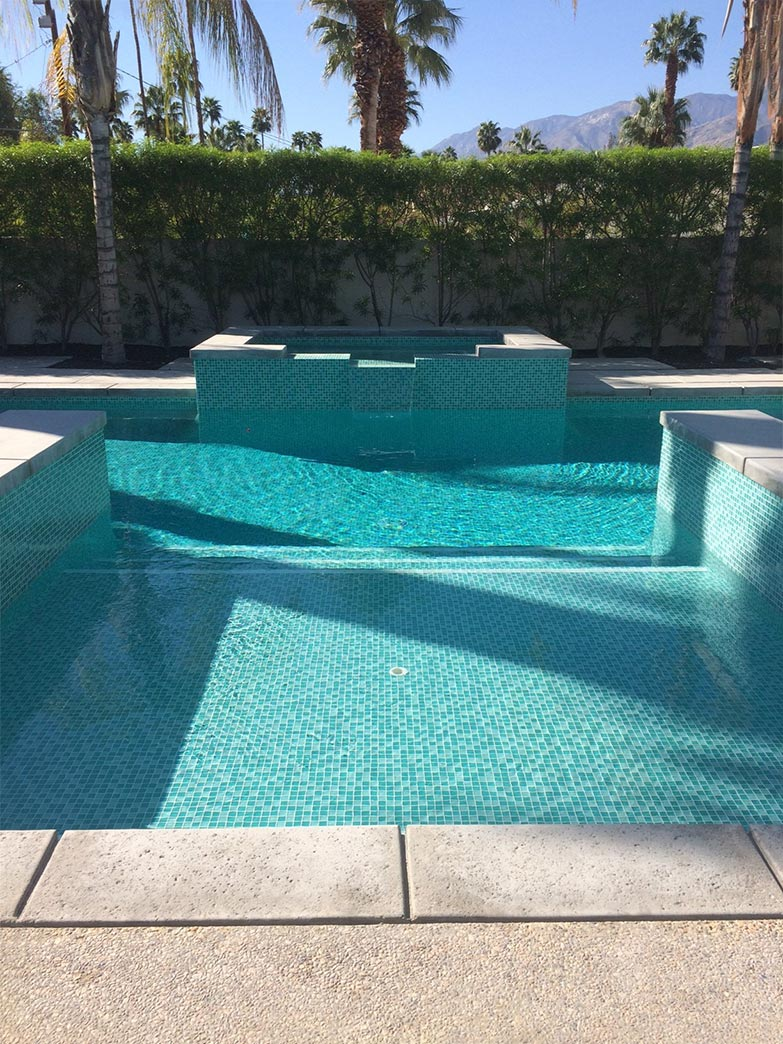 Home desert glass pools inc - Palm springs swimming pool contractors ...