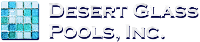 Desert Glass Pools, Inc. Retina Logo